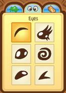 Pet Dolphin Eye Choices