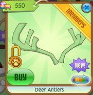 Deer Antlers (Leaf-Green)