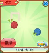 Shop Croquet-Set Ball Red-Blue