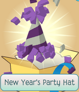 Monthly-Member-Gift New-Years-Party-Hat Purple crop
