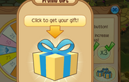 Daily-Spin Promo-Gift