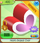 Friendship-Shop Heart-Shaped-Chair Red