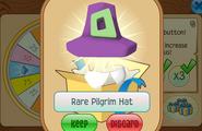 Daily-Spin-Gift Rare-Pilgrim-Hat
