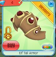 Diamond-Shop Elf-Tail-Armor Brown-Red