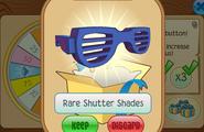 Daily-Spin-Gift Rare-Shutter-Shades