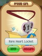 Rare heart locket daily spin