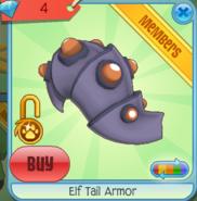 Diamond-Shop Elf-Tail-Armor Purple-Orange