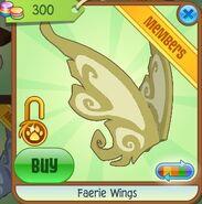 Faerie Wings (Dark-Yellow)