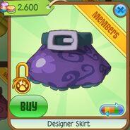 Designer Skirt (Purple)