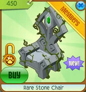 Leap-Year-Accessories Rare-Stone-Chair