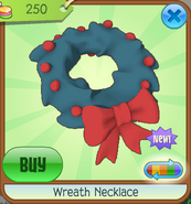 Trading-Party Wreath-Necklace Orange