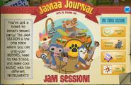Jam session jamaa journal