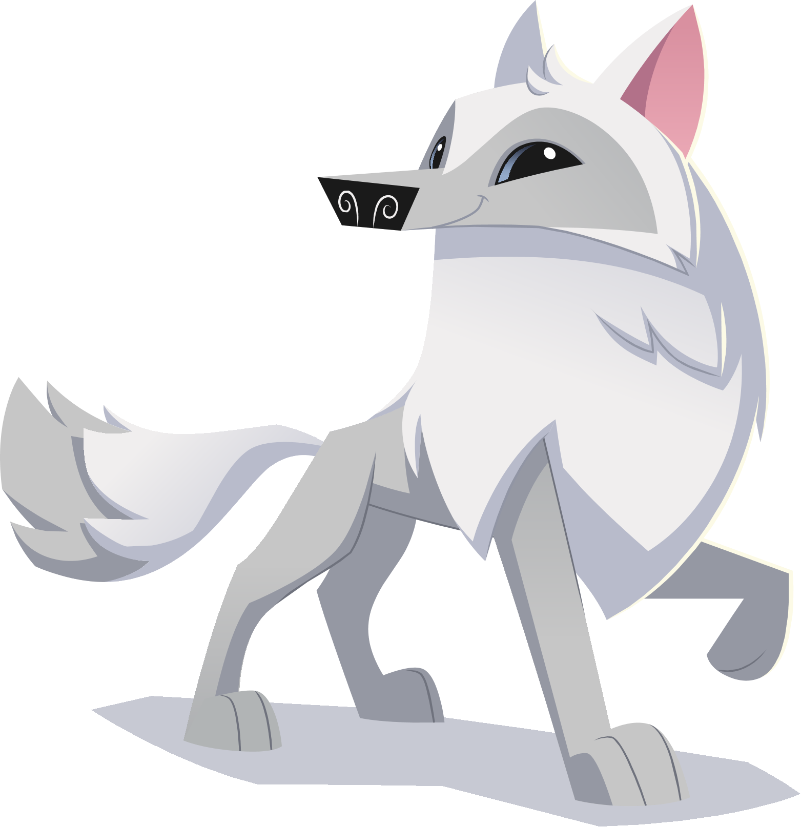 Image Renovated Art Arctic Wolf Png Animal Jam Wiki
