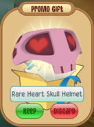 Rare heart skull daily spin