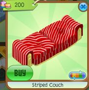 Striped Couch (Red)