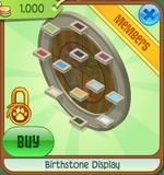 Birthstone Display