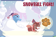 JAG Snowball Fight