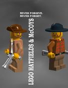 LEGO Hatfields & McCoys Poster