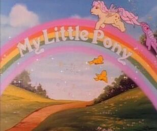 My Little Pony Title Card