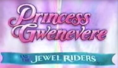 Princess Gwenevere and the Jewel Riders title card poor quality image