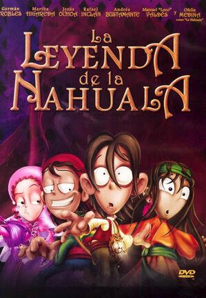 La leyenda de la nahuala DVD cover