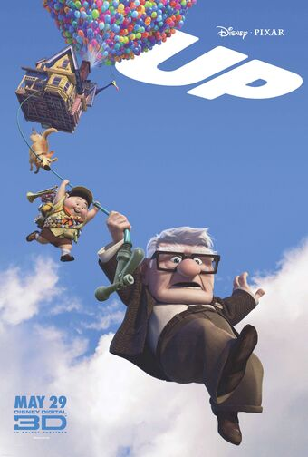 Up movie poster pixar disney
