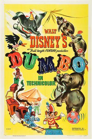 Dumbo 1941 poster