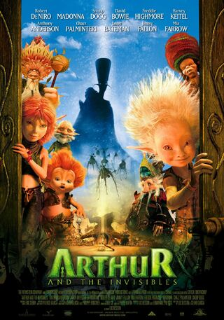 Arthur and the invisibles usa poster