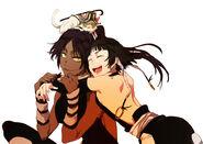 Yoruichi and soifon