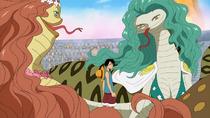 Luffy vs. Boa Sisters