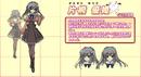 Yuuhi Katagiri Anime Design