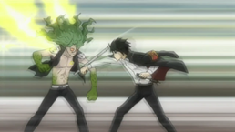Hibari vs Daisy