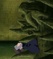 Yamato fused with Hashirama's living clone
