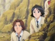 Mizuiro and keigo during arrancar arc