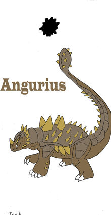 Anguirus design for g e d by raptorrex07-d3aee8o