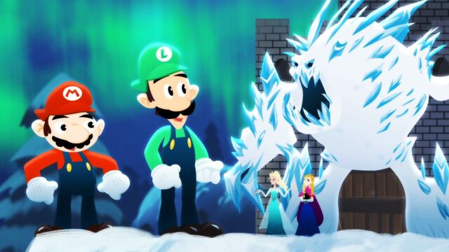 File:Mario Bros. vs. Frozen Sisters Thumbnail.jpg
