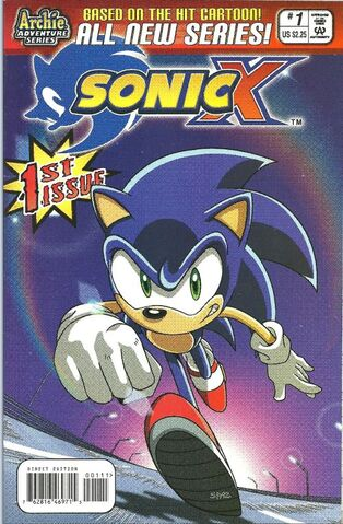 File:Sonic X issue 1.jpg