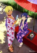 Ikumi Mito and Megumi Tadokoro (Megami 197)