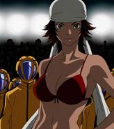 Natsumi Iriya Stitched Cap (Air Gear Ep 25)
