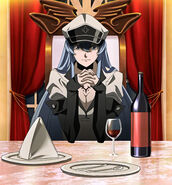 Esdeath Dinner Stitched Cap (Akame ga Kill Ep 9)