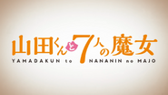Yamada-kun and the 7 Witches Anime OP Title Card