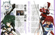 White Chaika and Akari vs Red Chaika and Selma Kenworth (Newtype)
