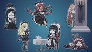 Overlord Maids Chibi (Overlord OVA 4)