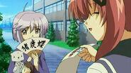Hinano's Cameo in the Tsuyokiss Anime