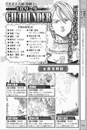The Seven Deadly Sins Fanbook Gilthunder Profile