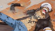 Law's Arm Cut Off (One Piece 708)