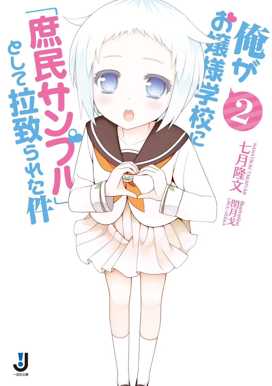 Image - Shomin Sample Light Novel 02.jpg   AnimeVice Wiki   FANDOM ...
