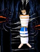 Ertio tied up in web