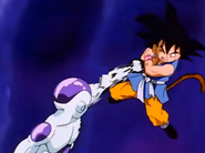 Frieza after punching gt kid goku in the stomach3