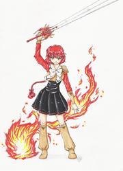 Hikaru Magic Knight Rayearth by TriaElf9